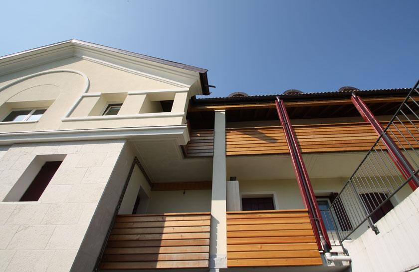 Casa Domitilla progetto realizzazione Cavarzano Belluno