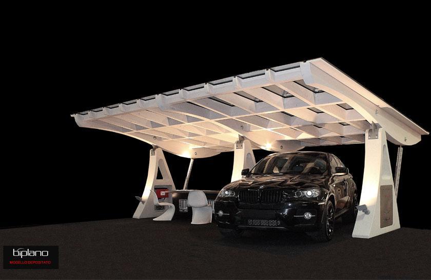 Biplano progetto fotovoltaico