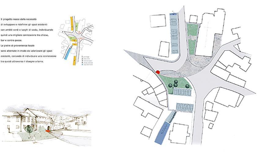 Concorso di idee per piazza Puos d'Alpago