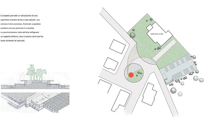 Concorso di idee per piazza Cornei