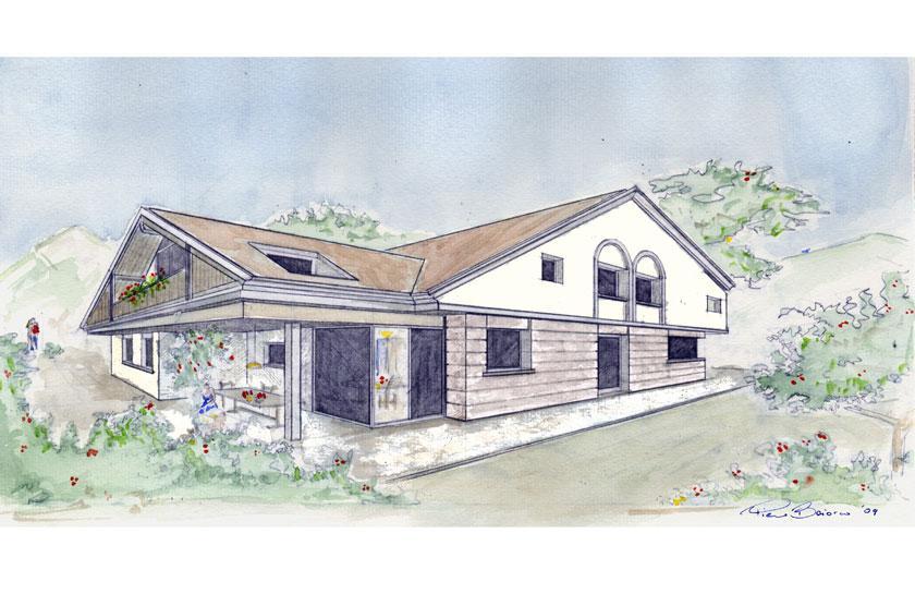 Casa unifamiliare a Farra d'Alpago